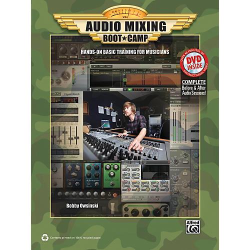 Alfred Audio Mixing Boot Camp Book & DVD