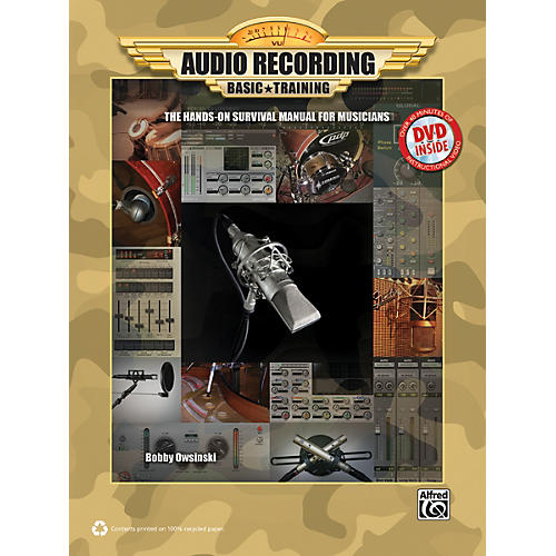 Alfred Audio Recording Boot Camp Book & DVD-ROM-thumbnail