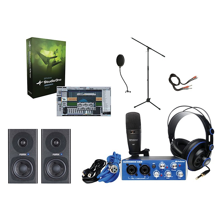 PreSonus AudioBox Complete Desktop Recording Bundle