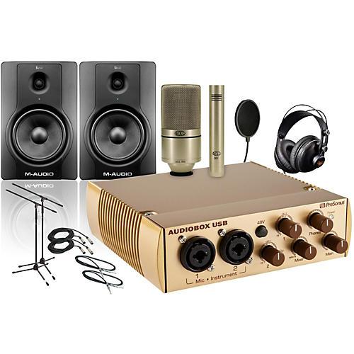 PreSonus AudioBox Gold 990/991 BX8 Package