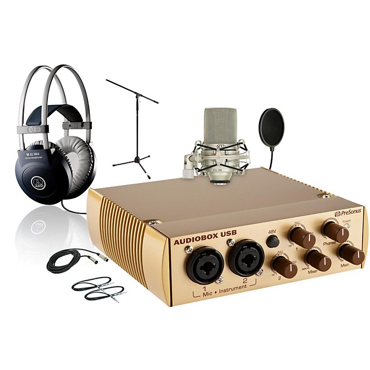 PreSonus AudioBox Gold 990 M80MKII Package