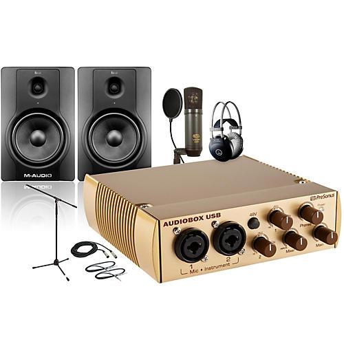 PreSonus AudioBox Gold V63M BX8 Package