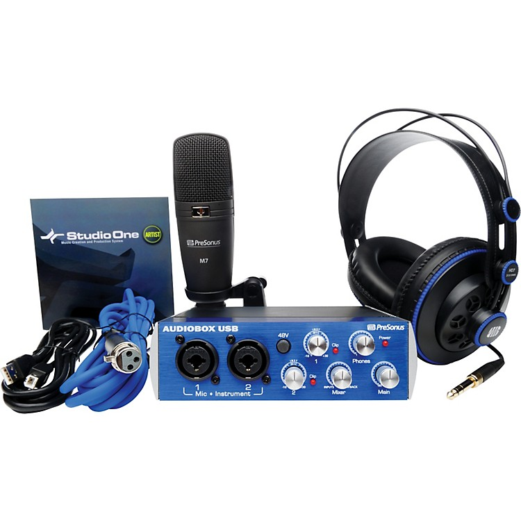 PreSonus AudioBox Studio Recording Bundle