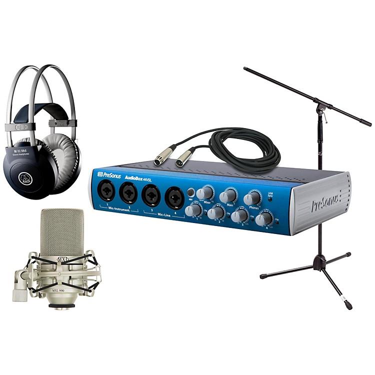 PreSonusAudiobox 44VSL MXL AKG Package