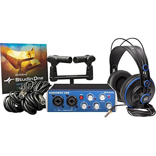 PreSonus Audiobox Stereo Bundle
