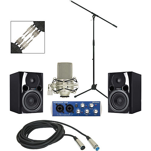 PreSonus Audiobox USB Recording Package