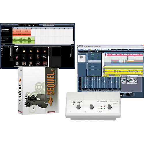 Yamaha Audiogram 3 & Steinberg Sequel 2 Recording Package
