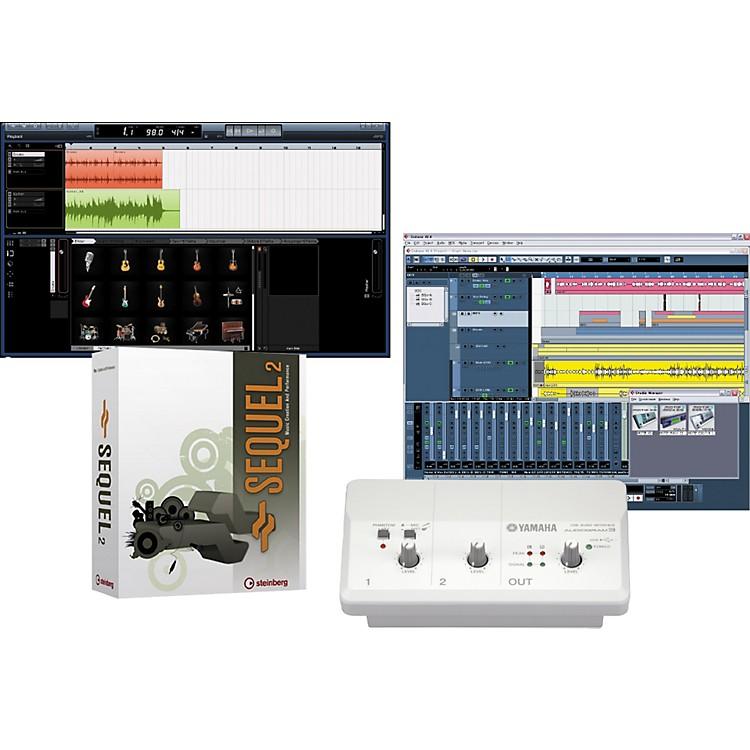 YamahaAudiogram 3 & Steinberg Sequel 2 Recording Package