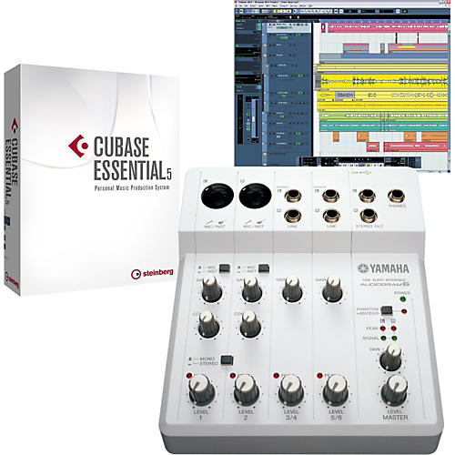 Yamaha Audiogram 6 & Cubase Essential 5 Recording Package