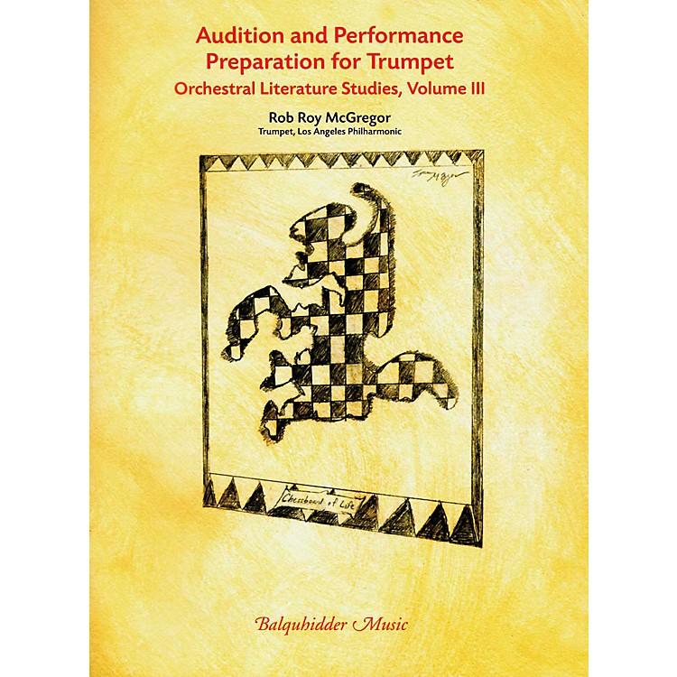 Carl FischerAudition & Performance Preparation for Trumpet Volume 3 Book