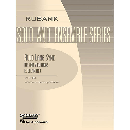 Rubank Publications Auld Lang Syne - Air and Variations Rubank Solo/Ensemble Sheet Series Softcover-thumbnail