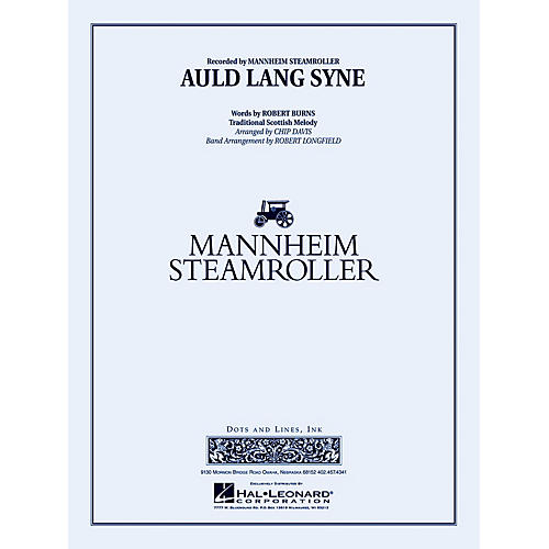 Mannheim Steamroller Auld Lang Syne Concert Band Level 3-4 by Mannheim Steamroller Arranged by Robert Longfield-thumbnail