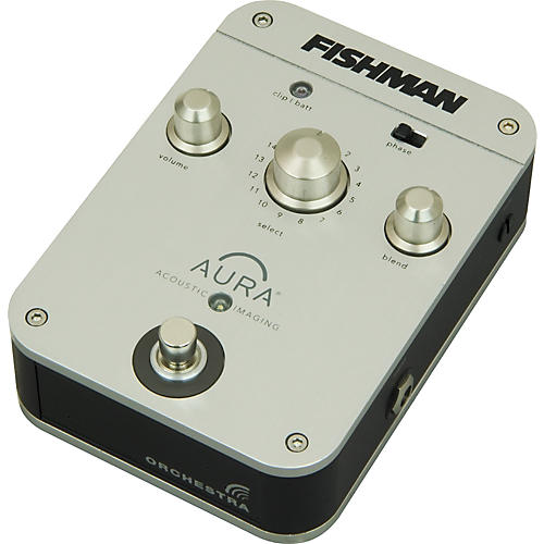 Fishman Aura Orchestra Acoustic Guitar Imaging Pedal