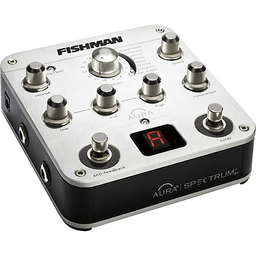 Fishman Aura Spectrum DI and Guitar Preamp