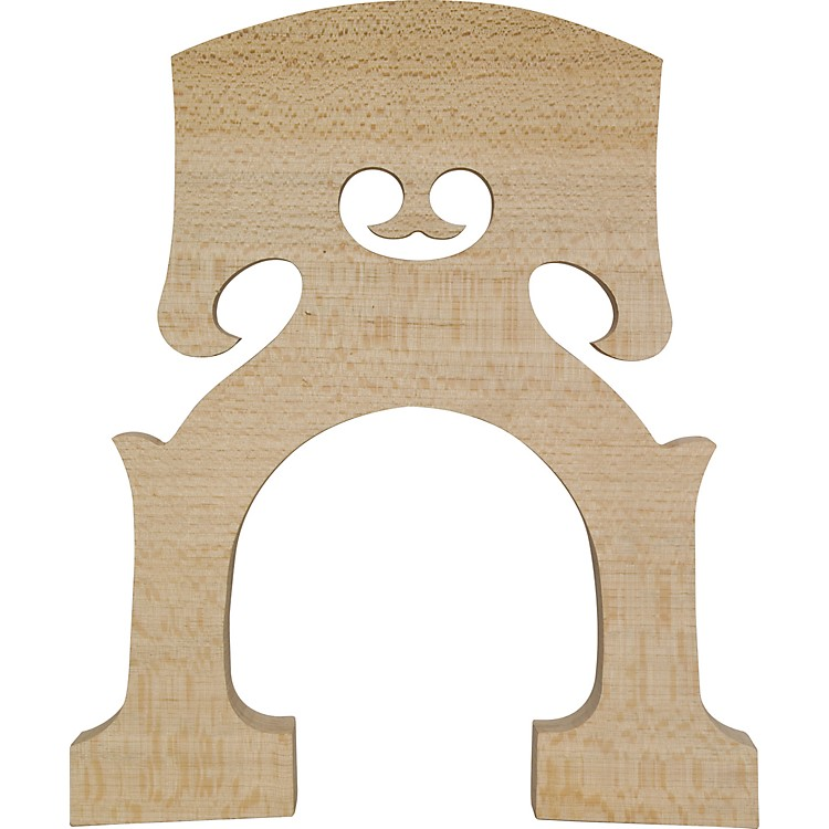 The String Centre Aurolar Hard Maple Bass Bridges Highly Flecked