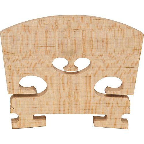 The String Centre Aurolar Hard Maple Violin Bridges 4/4 Slightly Flecked