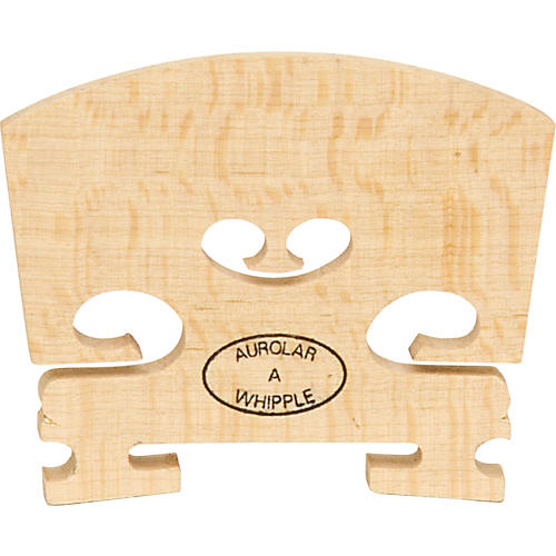 The String Centre Aurolar Hard Maple Violin Bridges 4/4 Somewhat Flecked