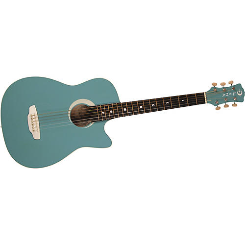 Luna Guitars Aurora Petite Dreadnought Cutaway Acoustic Guitar-thumbnail