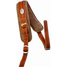 Gibson Austin Premium Comfort Guitar Strap Brown