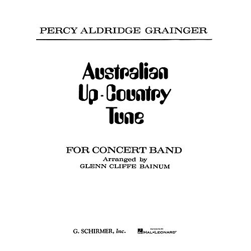 G. Schirmer Australian Up-Country Tune (Score and Parts) Concert Band Composed by Percy Grainger-thumbnail