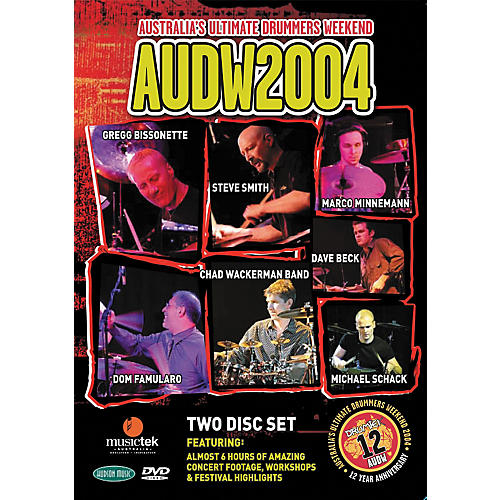 Hudson Music Australia's Ultimate Drummers Weekend - AUDW 2004 2-DVD Set