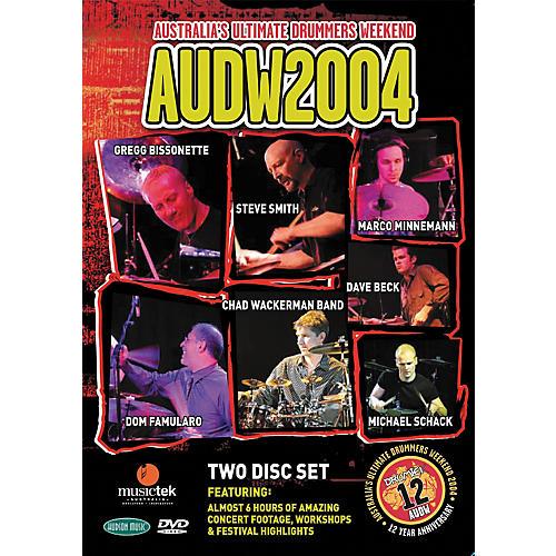 Hudson Music Australia's Ultimate Drummers Weekend - AUDW 2004 2-DVD Set-thumbnail