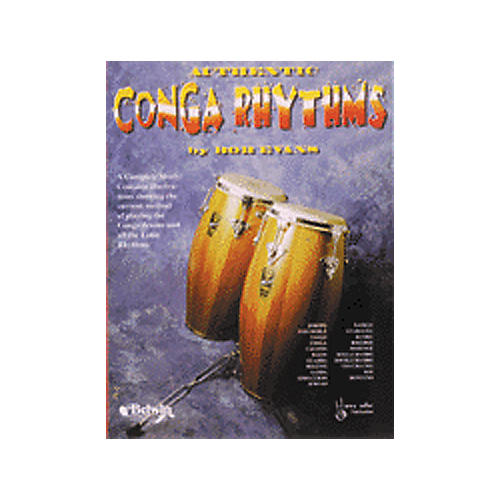 Alfred Authentic Conga Rhythms Book