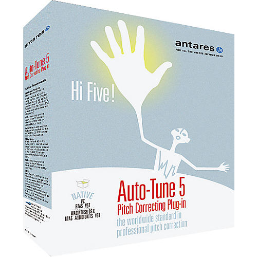 Antares Auto Tune 5 Native Plug-In For Mac OS X and Windows XP / Vista