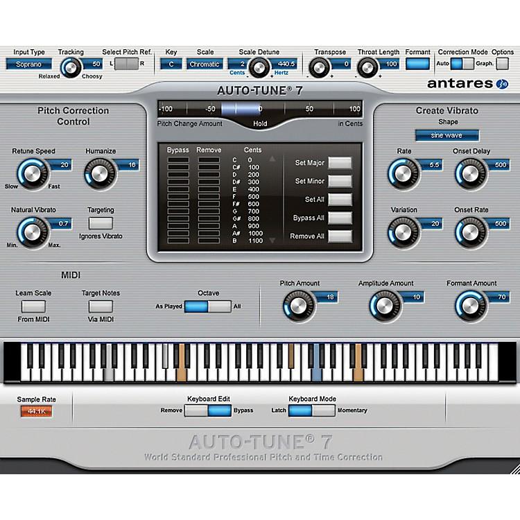 AntaresAuto-Tune 7 (VST/ AU/ RTAS) Software Download
