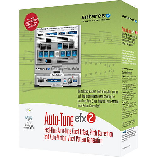 Antares Auto Tune EFX2 Promotional Bundle