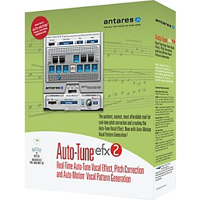 antares auto tune efx2 vocal processing software musician 39 s friend. Black Bedroom Furniture Sets. Home Design Ideas