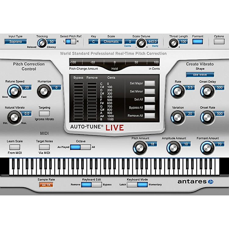 AntaresAuto-Tune Live (VST/ AU/ RTAS) Software Download