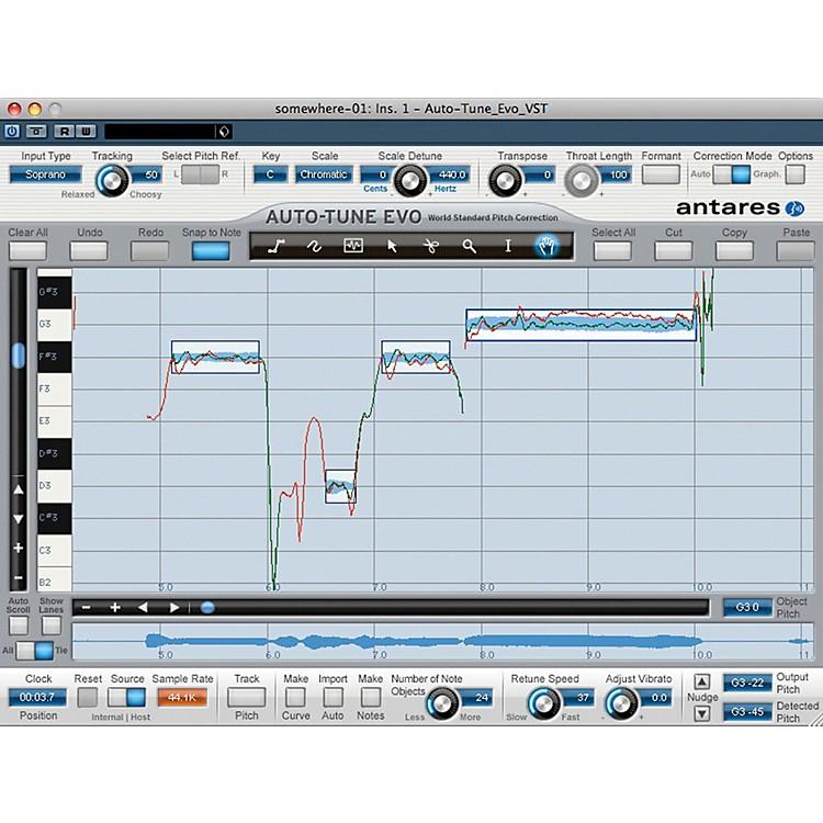 AntaresAuto Tune Vocal Studio TDM Software Download