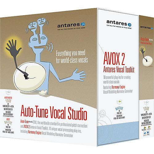 Antares Auto-Tune Vocal Studio TDM Software-thumbnail