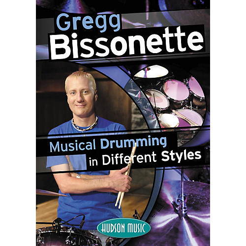 Hudson Music Autographed Gregg Bissonette Musical Drumming in Different Styles DVD