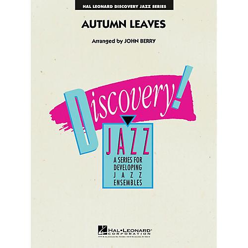 Hal Leonard Autumn Leaves Jazz Band Level 1.5 Arranged by John Berry-thumbnail