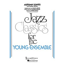 Hal Leonard Autumn Leaves Jazz Band Level 3 Arranged by Peter Blair