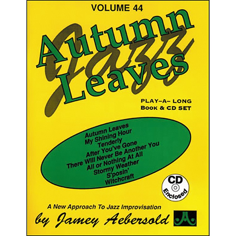 Jamey AebersoldAutumn Leaves Play-Along Book and CD