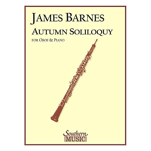 Southern Autumn Soliloquy (Oboe) Southern Music Series by James Barnes-thumbnail