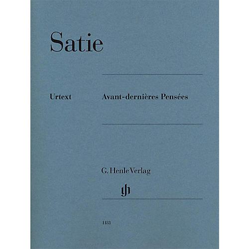 G. Henle Verlag Avant-dernières Pensées Henle Music Folios Series Softcover-thumbnail