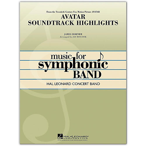 Hal Leonard Avatar Soundtrack Highlights Concert Band Level 4