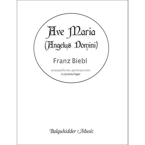 Carl Fischer Ave Maria (Angelus Domini) - for Brass Choir-thumbnail