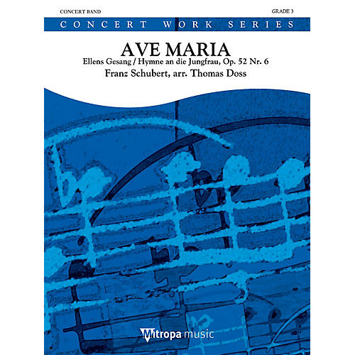 Mitropa Music Ave Maria Concert Band Level 3 Arranged by Thomas Doss-thumbnail