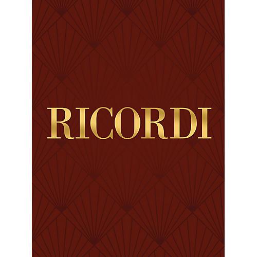 Ricordi Ave Maria SATB with piano, Lat (Vocal Score) SATB Composed by Giuseppe Verdi