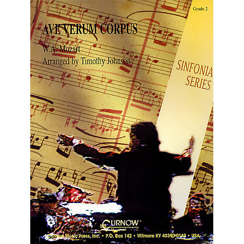 Curnow Music Ave, Verum Corpus (Grade 2 - Score and Parts) Concert Band Level 2 Arranged by Timothy Johnson-thumbnail