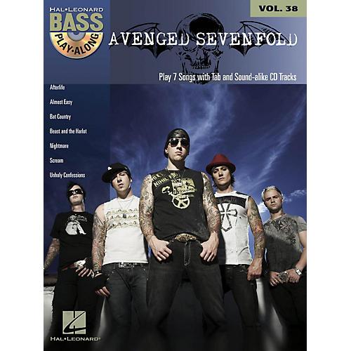 Hal Leonard Avenged Sevenfold - Bass Play-Along Volume 38 Book/CD