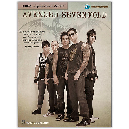 Hal Leonard Avenged Sevenfold - Guitar Signature Licks (Book/Online Audio)-thumbnail