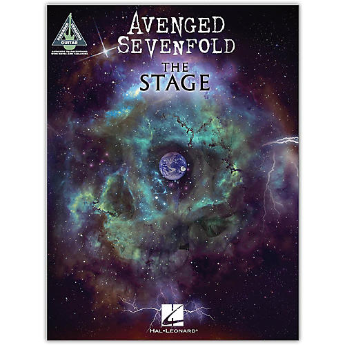 Hal Leonard Avenged Sevenfold - The Stage Guitar Tab Songbook-thumbnail