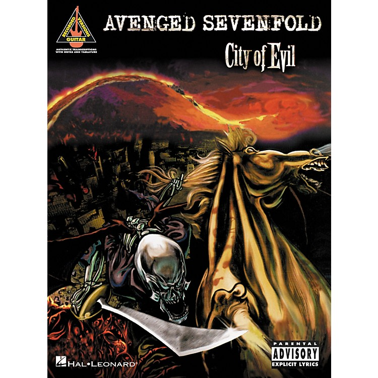 Hal Leonard Avenged Sevenfold City of Evil Guitar Tab Songbook