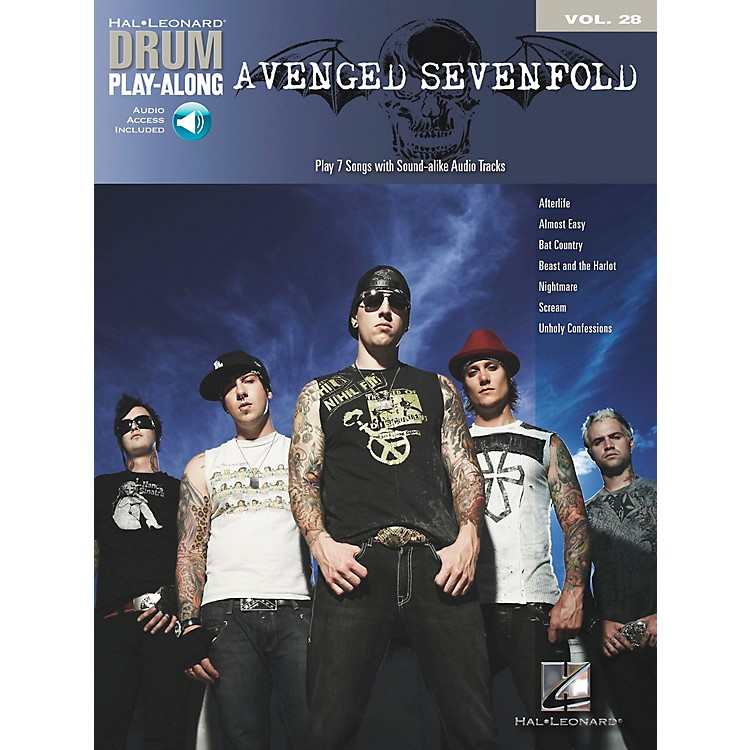 Hal Leonard Avenged Sevenfold Drum Play-Along Volume 28 Book/CD